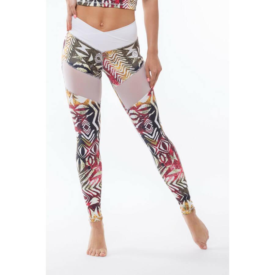 Fitness Leggings South Africa: Africa Canyon Fitness Leggings, M