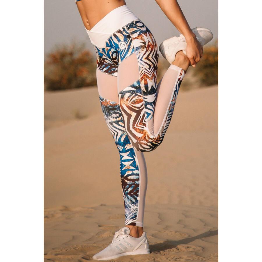 Fitness Leggings South Africa: Africa Sky Fitness Leggings, M